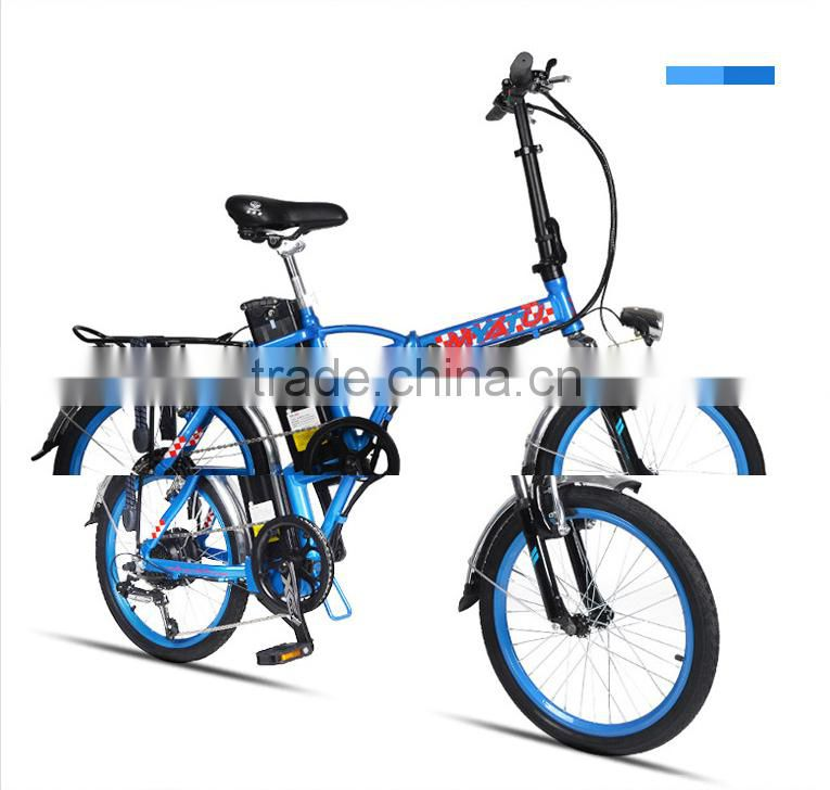 20 inch CE Rohs approved factory bicycle women ebike special designed adult electric city 48V ebike