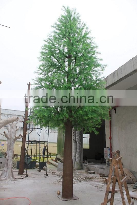 2015 hot sale artificial cedar tree