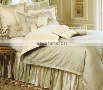 luxury charmeuse silk Bedding Sets--embroidery fabric sheet sets