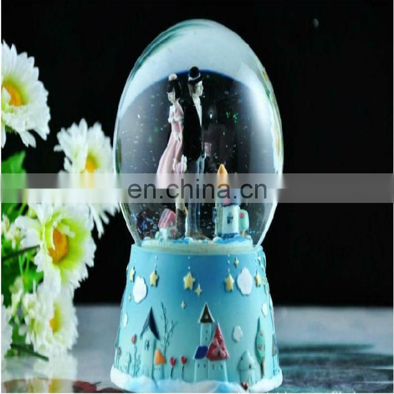 unique snow globe