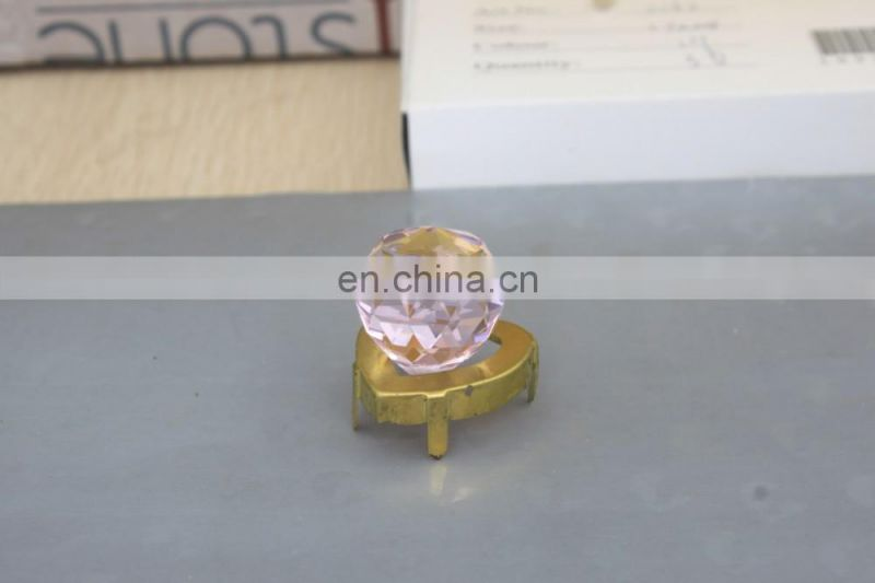 Wholesale High quality Pink K9 Crystal Balls 30mm 20mm for lamp decoration