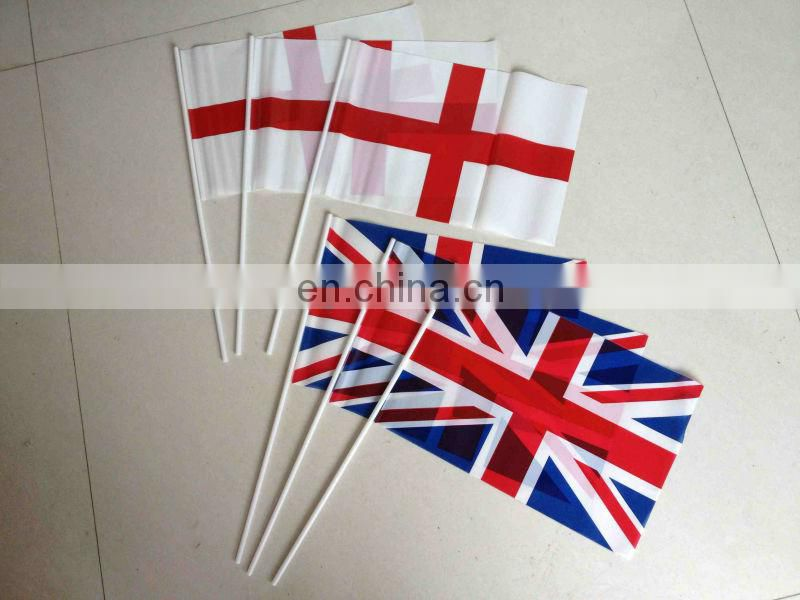 union jack paper hand waving flag