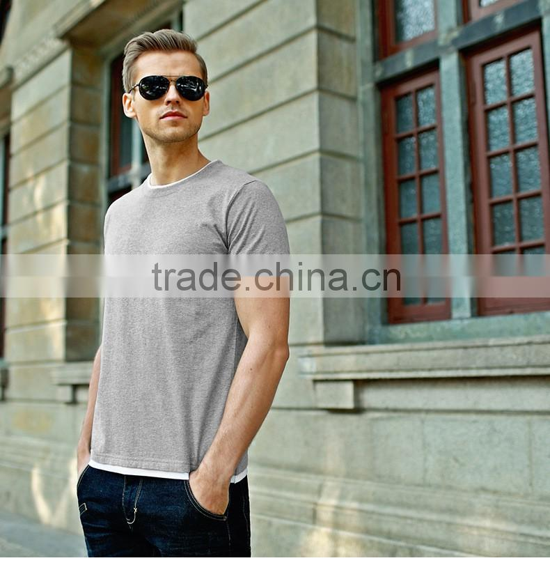 wholesale OEM service tshirt custom high quality bulk blank men's t shirt for printing logo hot sale plain t shirt men