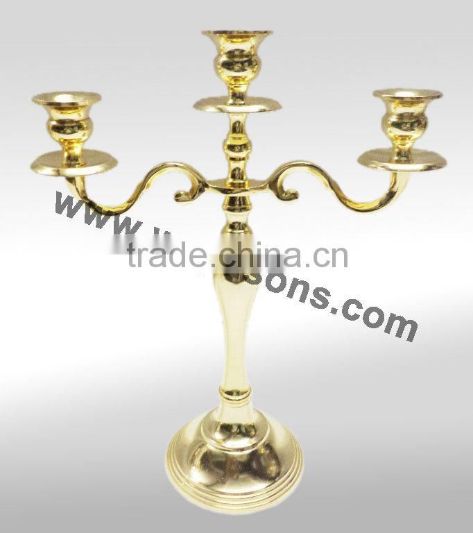 New Crystal Candle holder Candelabras for Glass Wedding Decoration & Table centerpieces