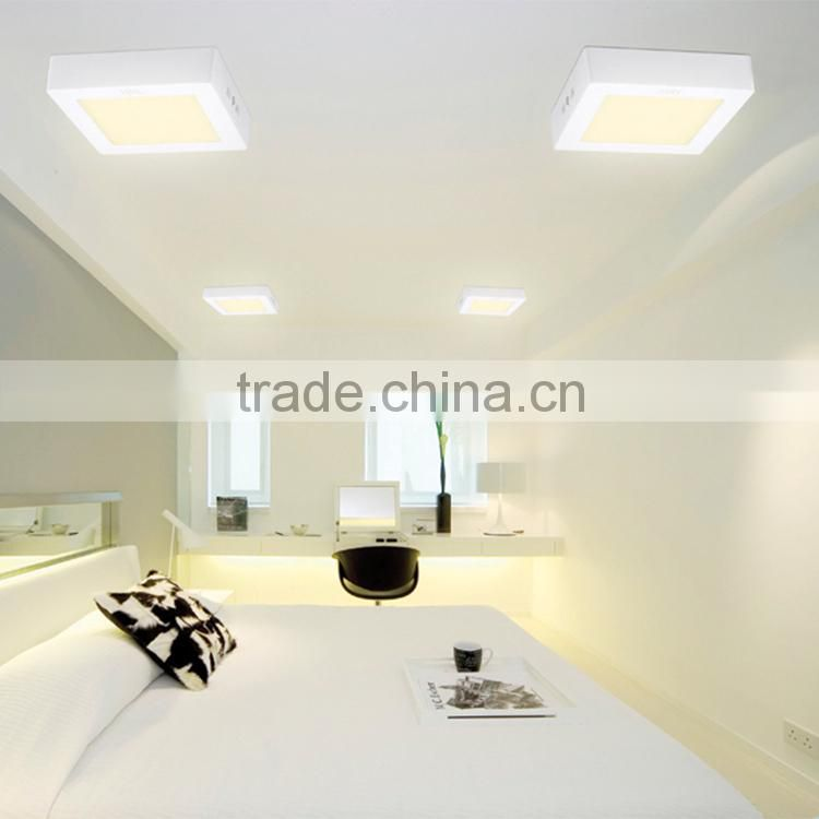CE RoHS approved ceiling light covers led ceiling flat panel light 20w SMD2835 surface mounted led panel led square panel light