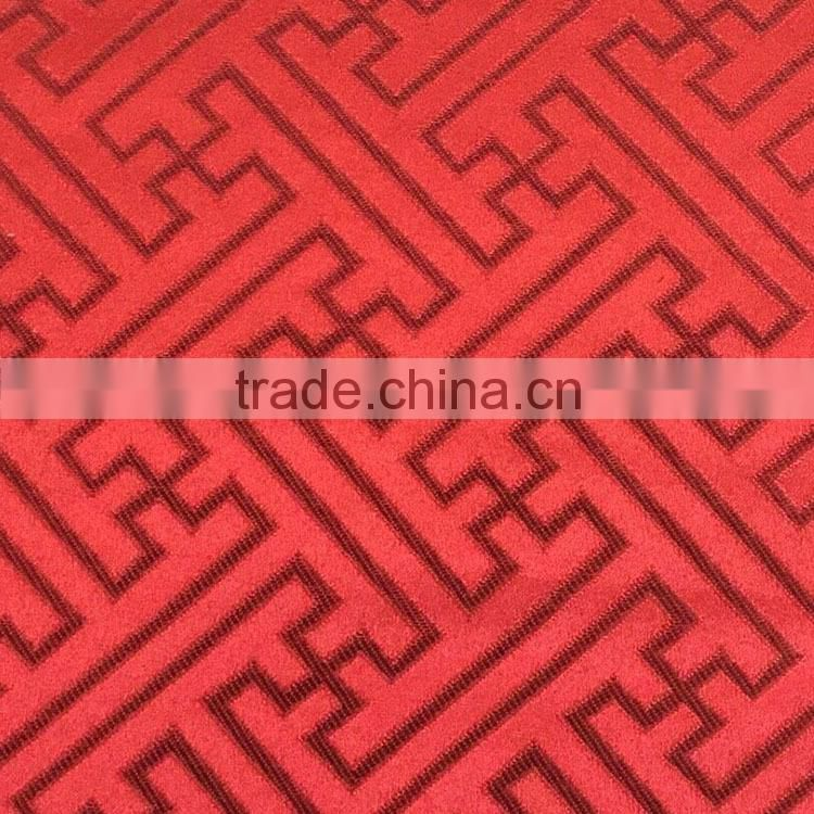 Textile made in china factory cheap price Breathable Water Resistant cationic Polyester Fabric for sofa