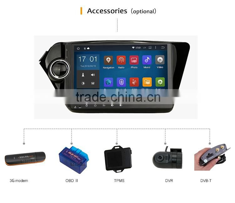 9 Inch Car DVR OBD Front gps multimedia navigator dvd price for POLO MK5