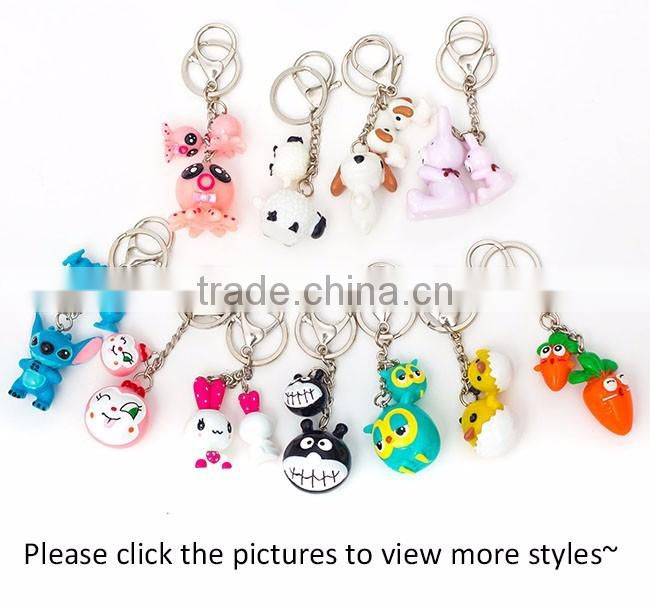 Lovely custom keychain doll/key organizer