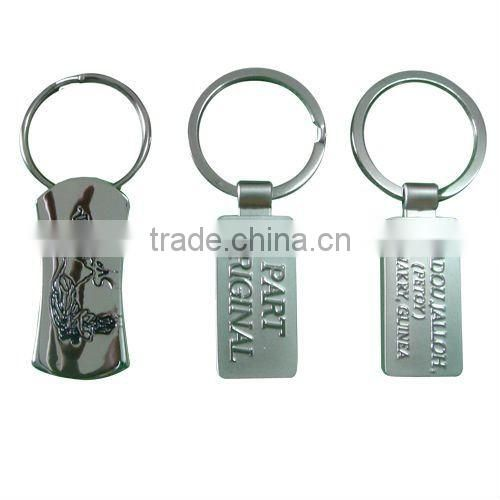 Fashion metal keychain