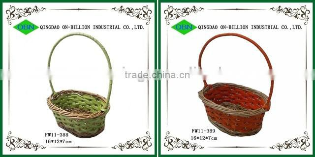 Star shape wicker rattan wall decor