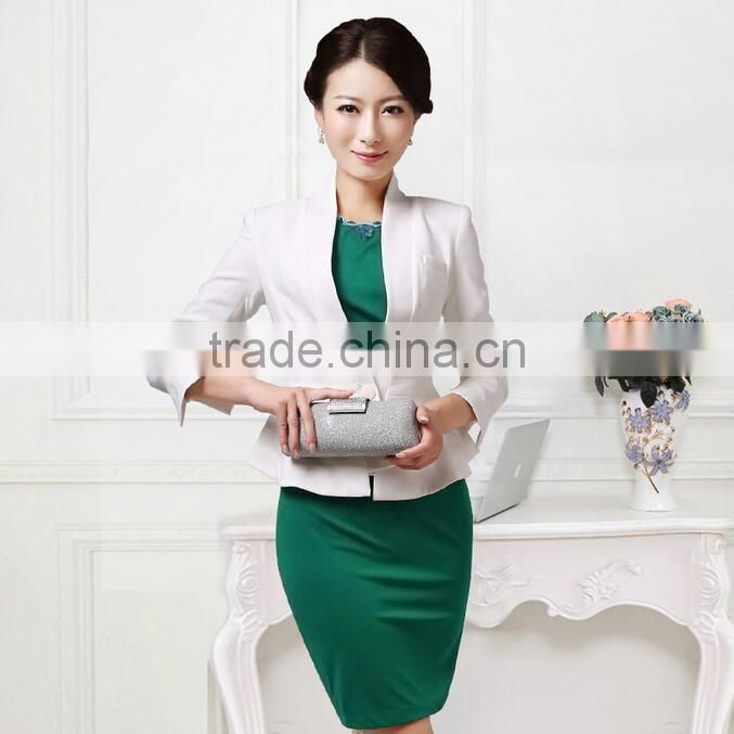 154e0a150 ladies business formal work office shirt and pant suit women new suits for  women