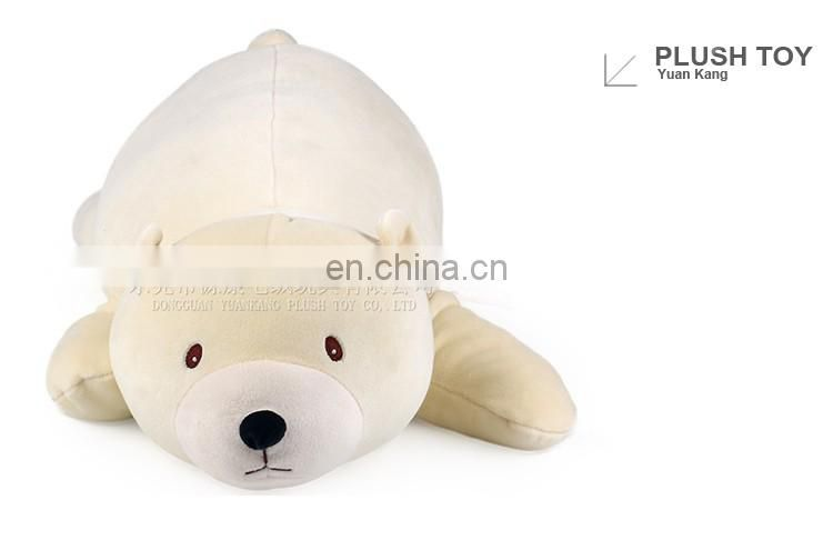 30cm super soft stuffed toy sleeping bear animal plush pillow