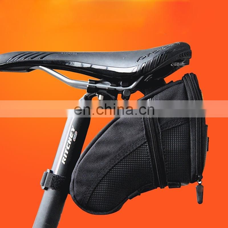 2016 wholesale bike seat saddle frame bag for travel from guangzhou manufacturer