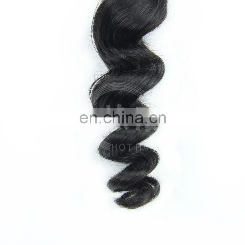 brazilian loose deep wave human hair weave virgin brazilian loose wave hair