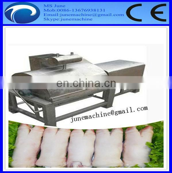 Automatic stainless steel pig feet trotter hair removing plucker machine in cheap price 0086-13676938131