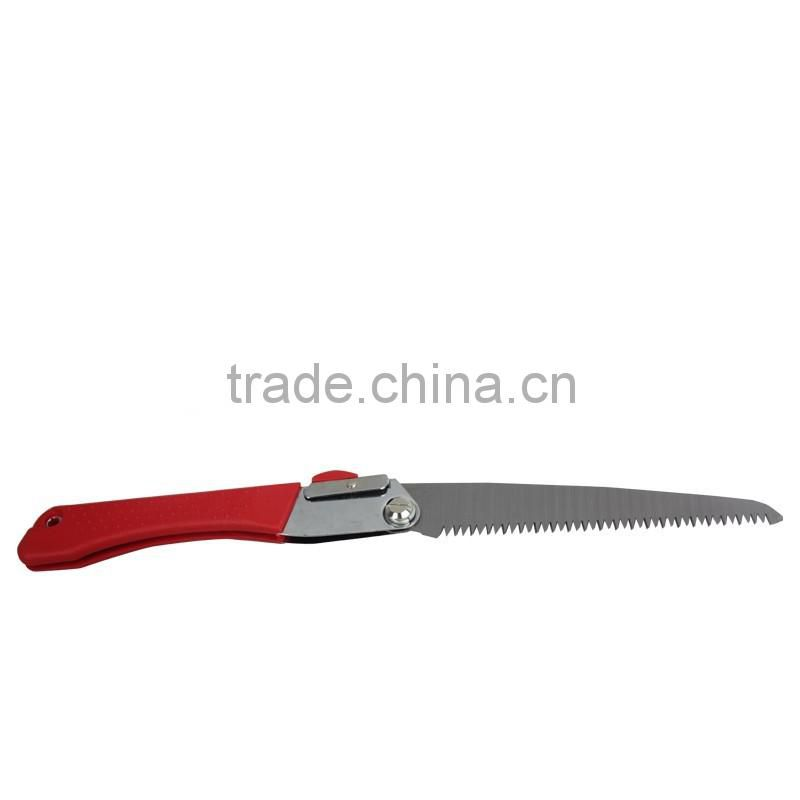 High quality folding saw with ABS+TPR handle garden saw hand tool Model: C-4023