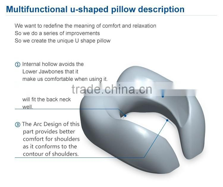 U shape travel neck pillow in new design