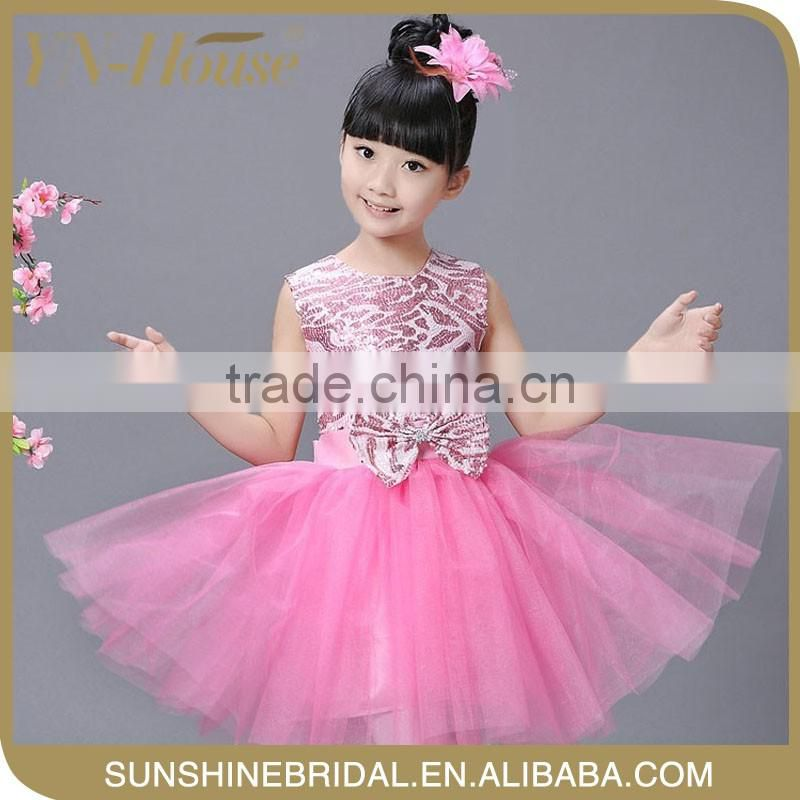 organza princess flower girl dresses for farewell party of FREE ...