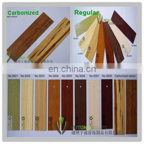Tiger Bamboo venetian blinds