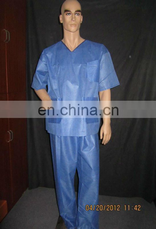 Medical Scrub Suits, Disposable Patient Gown, Hospital Gown, Visit Gown