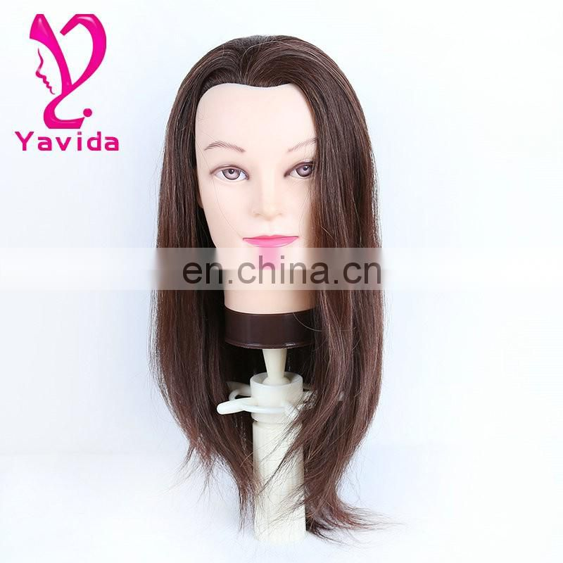 For Hairdresser Female Mannequin Head Manikin Head with hair abstract mannequin price