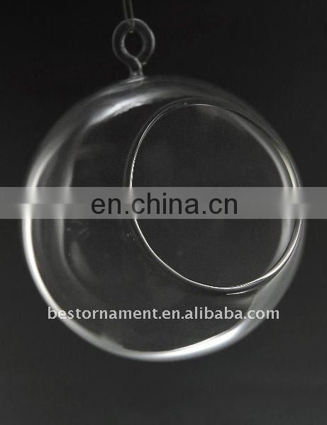 100cm Clear Glass Ball