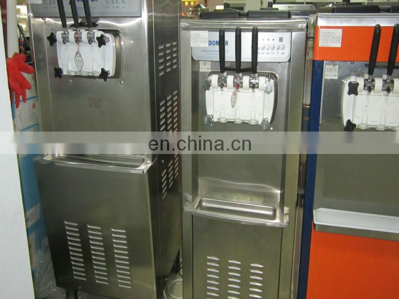smoothie ice cream machine/multi flavor ice cream machine