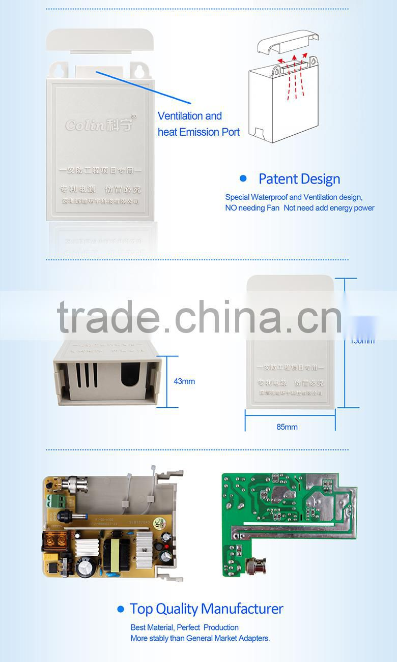 New design the power adapter fpr cctv system with great price