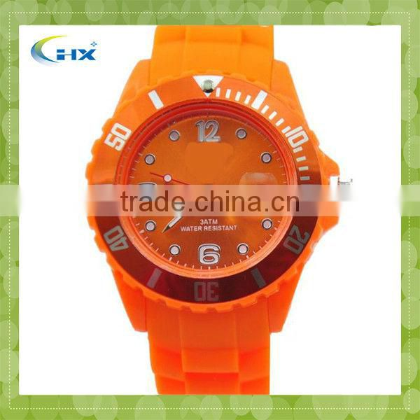 Newest!! Transparent Shell Jelly Custom Silicone Watches With 3 Atm Waterproof