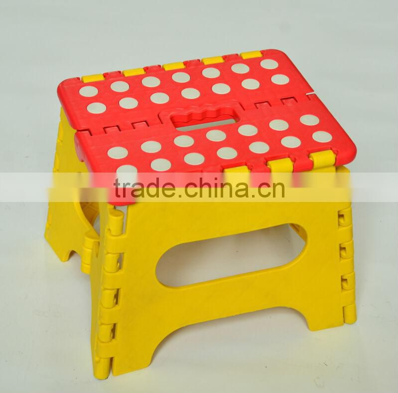 foldable stool with handle