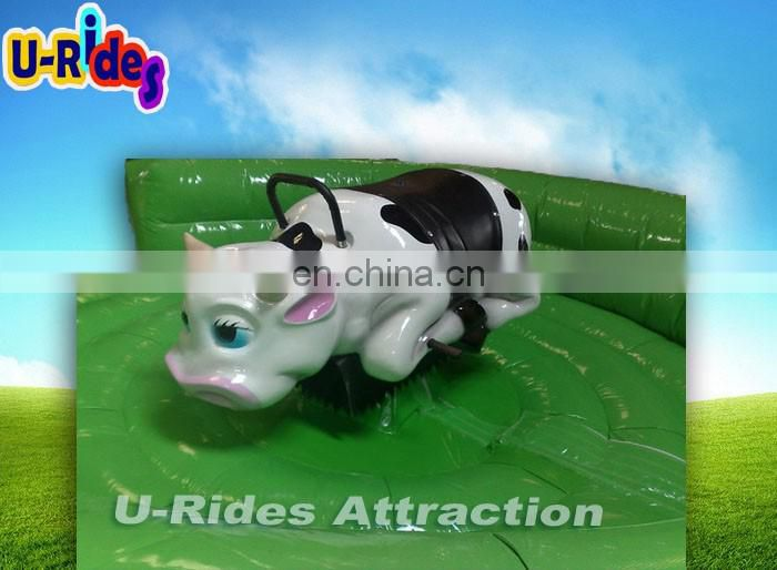 2017 Inflatable Baby Bull Rodeo Rides Play Like Adult Bull Rodeo For Sale