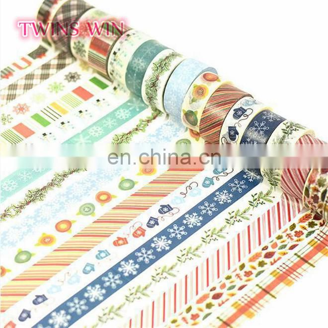 South Africa Best Selling cheap Wholesale custom logo Eco-friendly fashionale multi colored masking tape paper