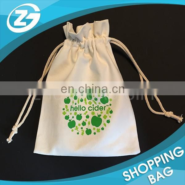 Custom Suede Velvet Cotton Small Drawstring Accessory Bag