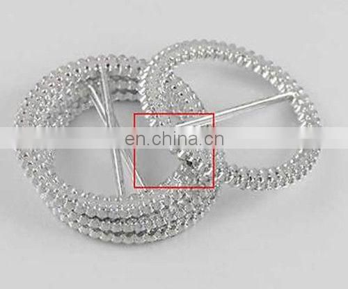 53mm Diamante Rhinestone Buckle Chair Sash Ribbon Slider