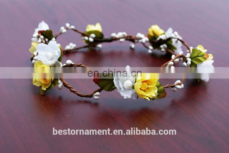 Festival Flower Crown Headband