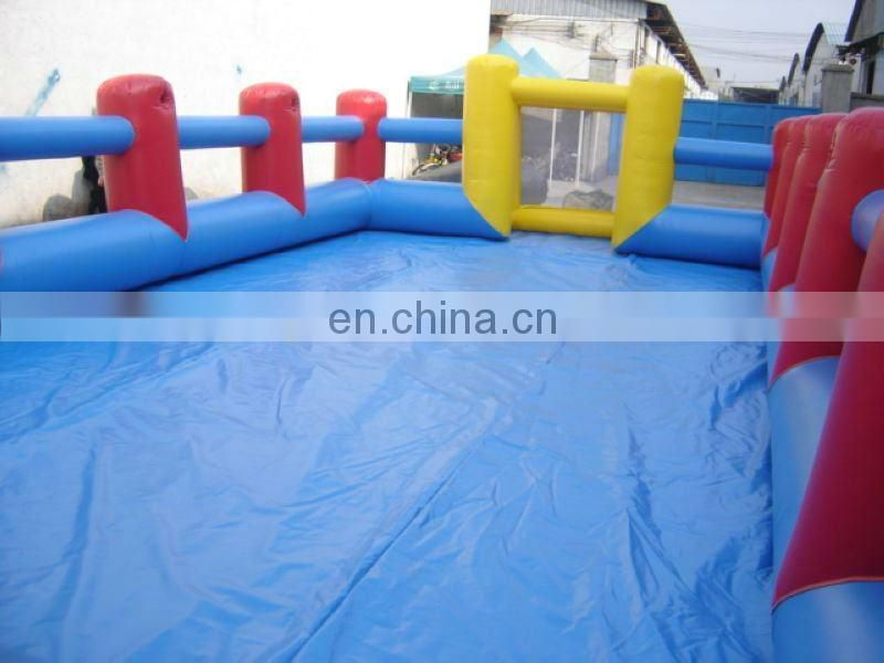 Inflatable soccer sports