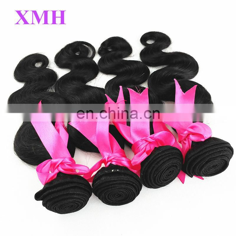 Best Selling China Factory Wholesale Human Virgin Hair Unprocessed 100% Virgin Brazilian Hair Weave