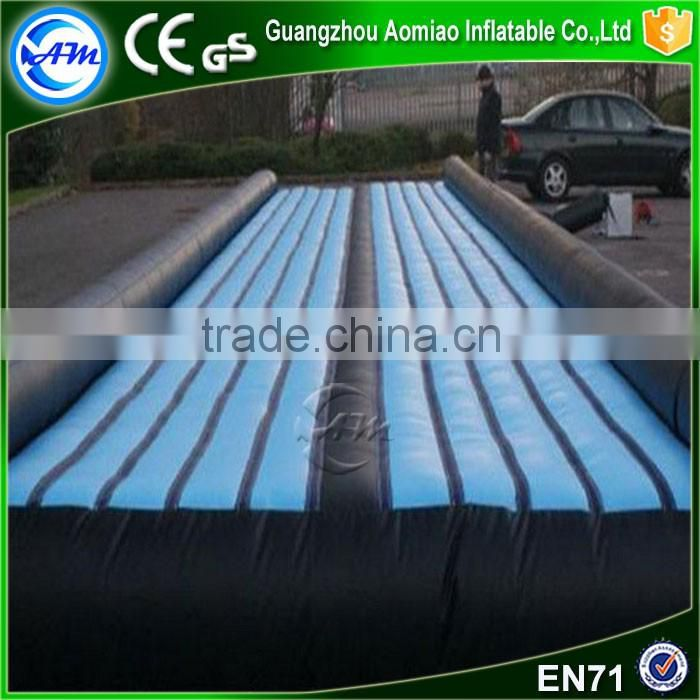 Cheap inflatable air tumble track,air track factory,inflatable air bed for training