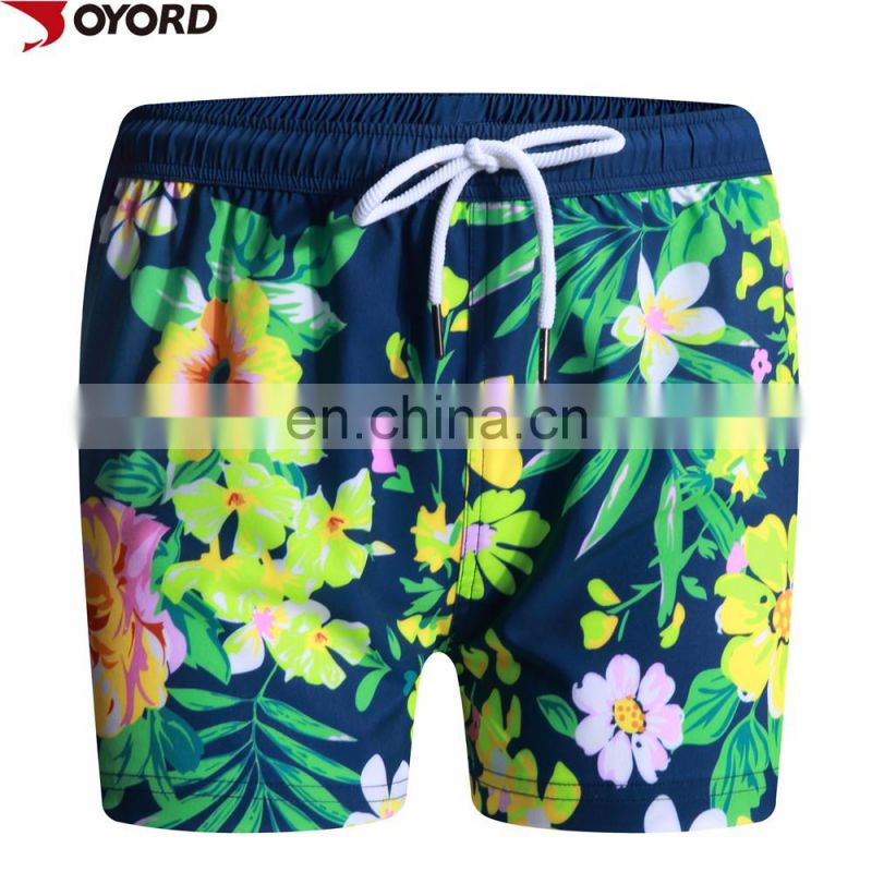Custom sublimation 4 Way Stretch board shorts