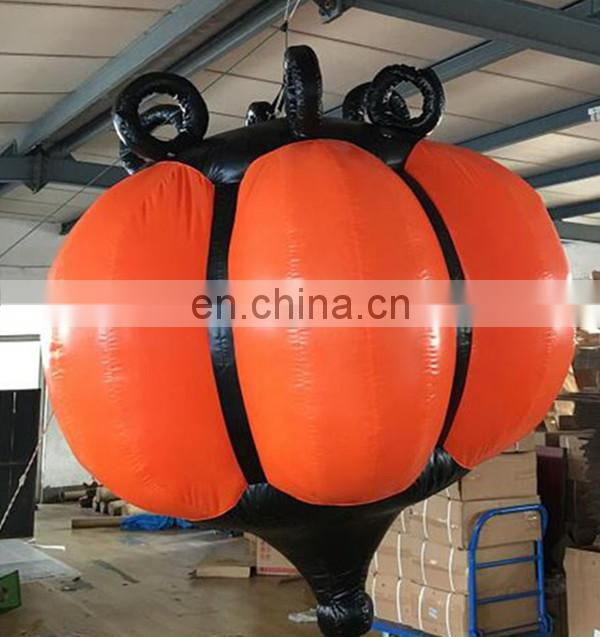 Hot sale giant inflatable chromatic droplight for event decoration