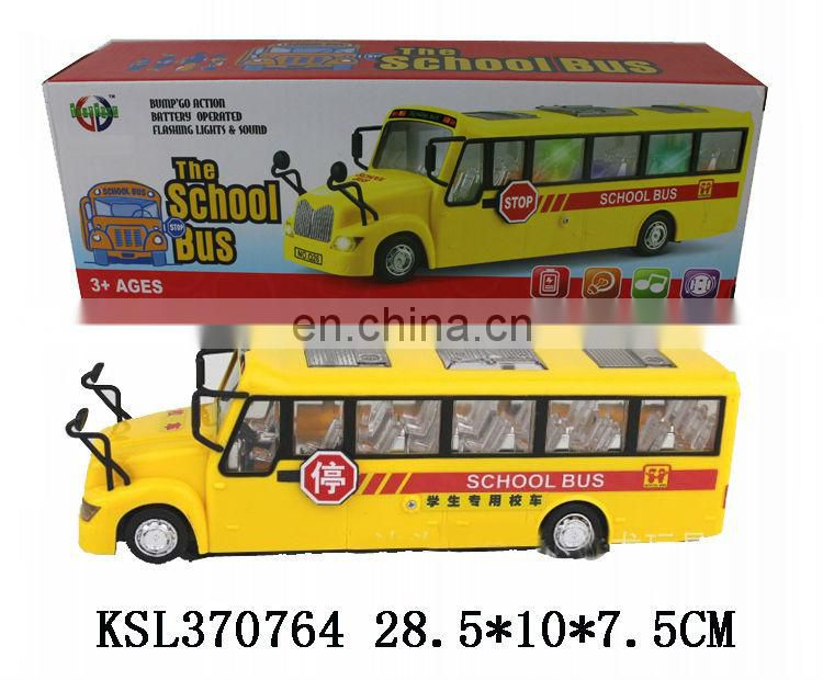 electric toy buses,vehicle bus,plastic toy school bus model