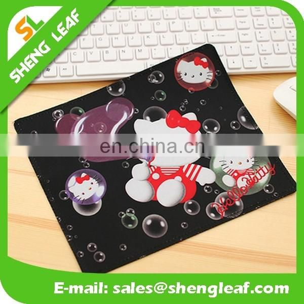 hello kitty patterns printed promotion mouse pad
