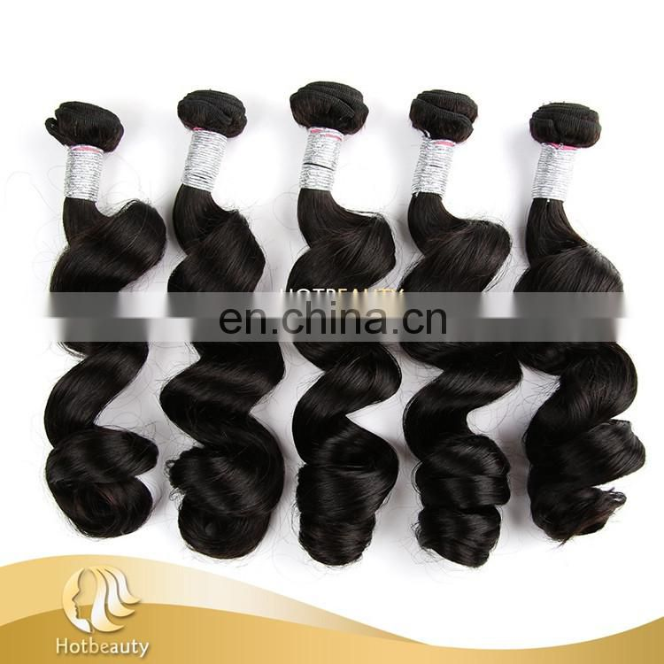 wholesale Loose Deep Wave Weave Hair Styles Peruvian Remy Hair Grade 8A Virgin Hair Bundles Alibaba 2017