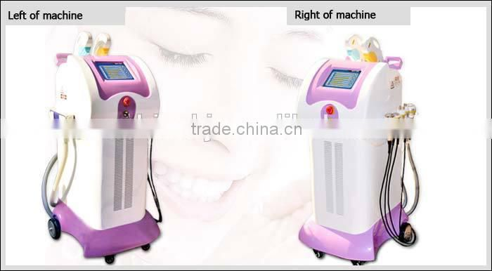 CE approved Vertical Hottest sale 9 in 1 multifunction beauty equipment ipl for salon use