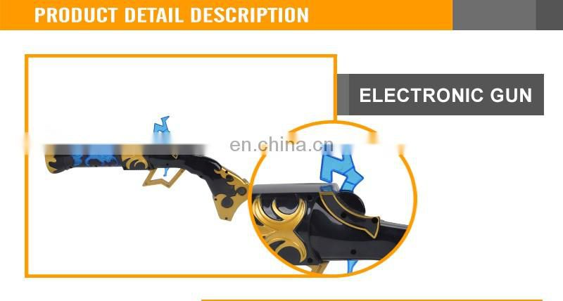 Children Electric Gun with Light and Flash Music Hot Gun
