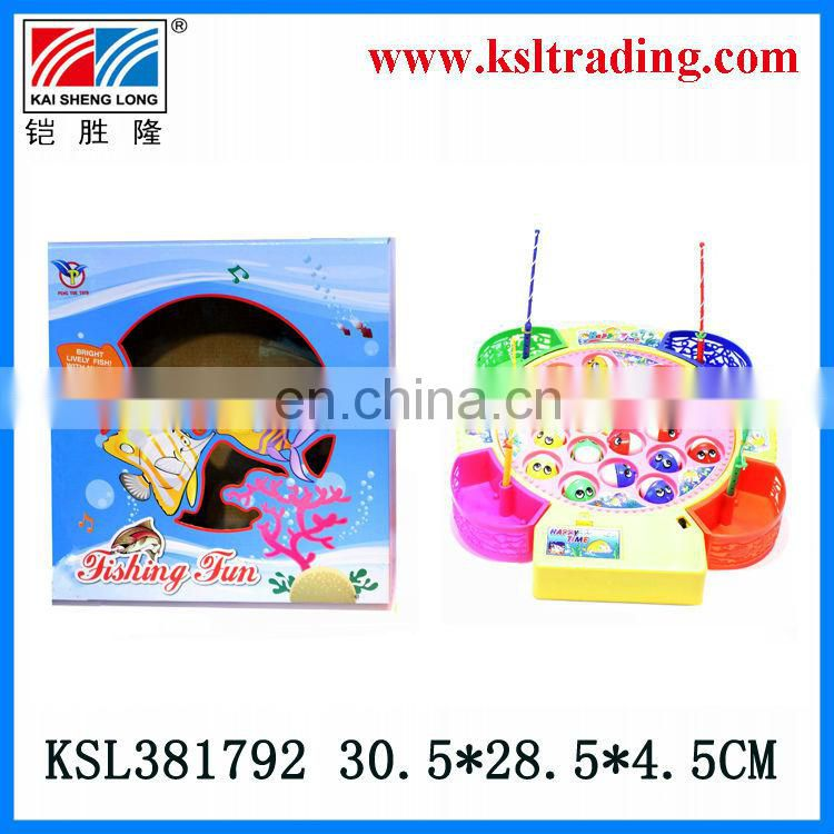 plastic toys kids electric fishing