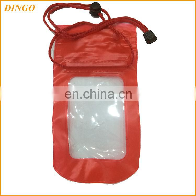 2017 high quality clear EVA/PVC waterproof bag for mobile phone