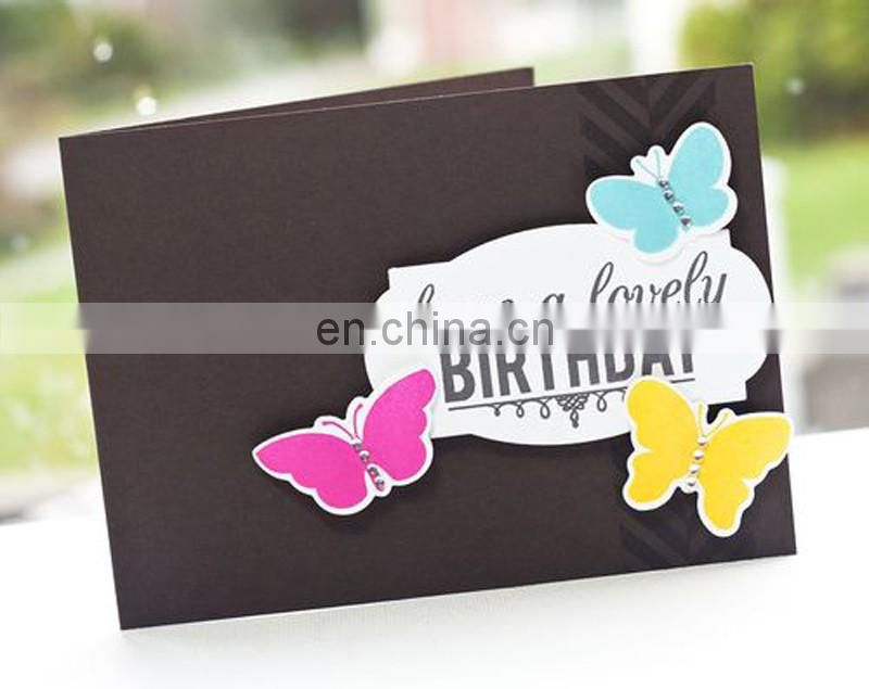 New design collection handmade birthday gretting card