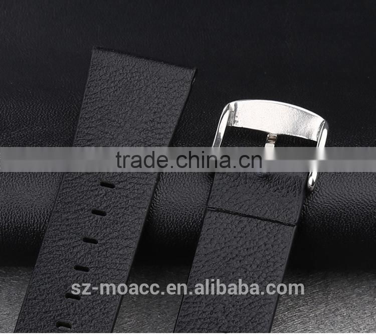22MM black for iWatch Genuine Leather Strap Wrist Band Straps for Apple Watch