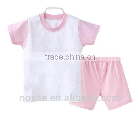 2014 New Design Baby Kids Summer Clothing Set Character Small Children Suits Baby Garment Wholesale
